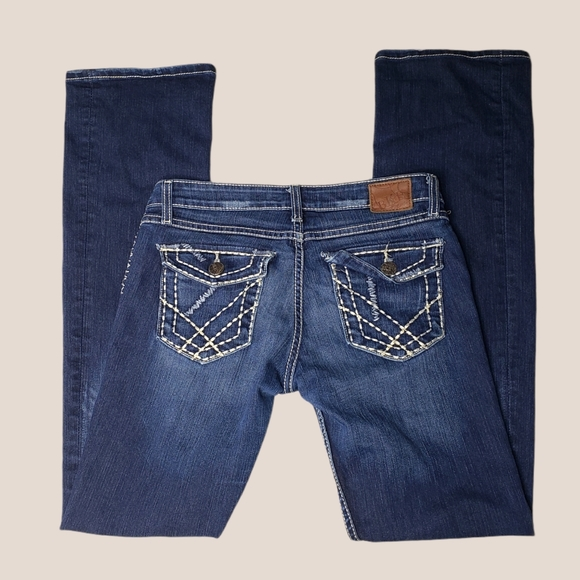 BKE Stella Stretch bootcut Jeans 29x35